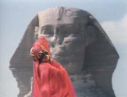Kate Bush performing 'Egypt' during the Christmas Special in 1979