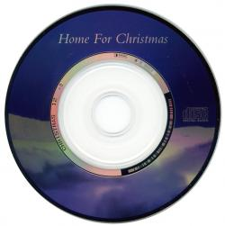 "'Home For Christmas' - 3"" CD single disc"