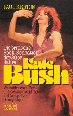 Kate Bush: book cover