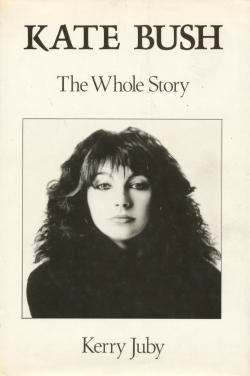 'Kate Bush: The Whole Story' book cover