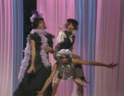 Kate Bush performing 'Ran Tan Waltz' during the Christmas Special 'Kate' in 1979