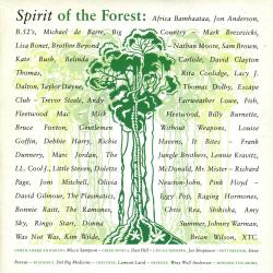 "Spirit Of The Forest - UK 7"" single sleeve"