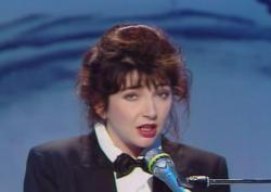 Kate Bush performing 'This Woman's Work' on Champs Élysées, 19 May 1990