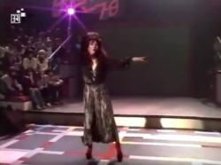 Kate Bush performing 'Wuthering Heights' in Scene 78