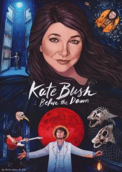 'Kate Bush: Before The Dawn' booklet cover