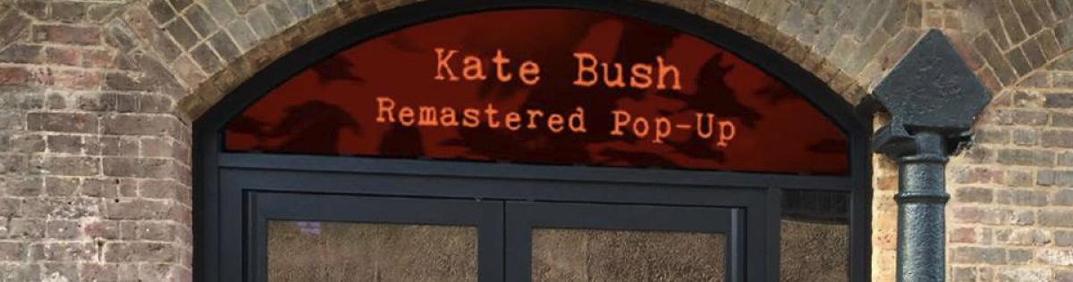 Kate Bush Remastered Pop-up Shop